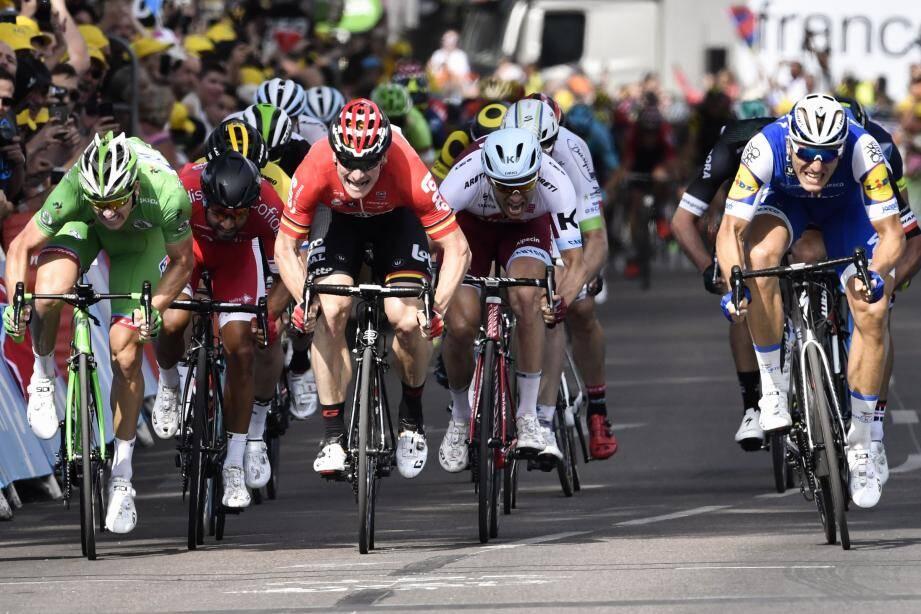 Démare, Bouhanni, Greipel, Krsitoff, Kittel : le sprint se règle entre costauds...