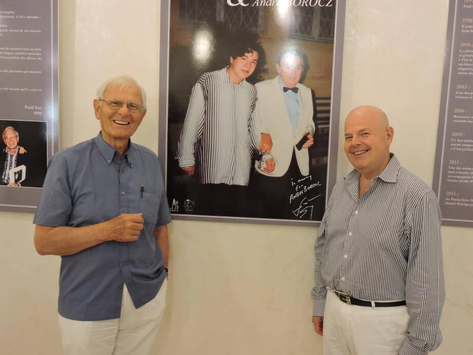 Jacques Ridès et Carlo Schreiber.
