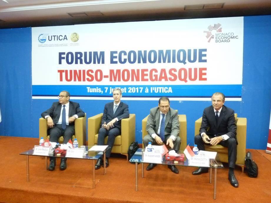 « Nous voulons aujourd'hui faire de la Tunisie une plate-forme d'investissements », avance le vice-président de l'Union tunisienne de l'Industrie, du commerce et de l'artisanat, Samir Majoul.