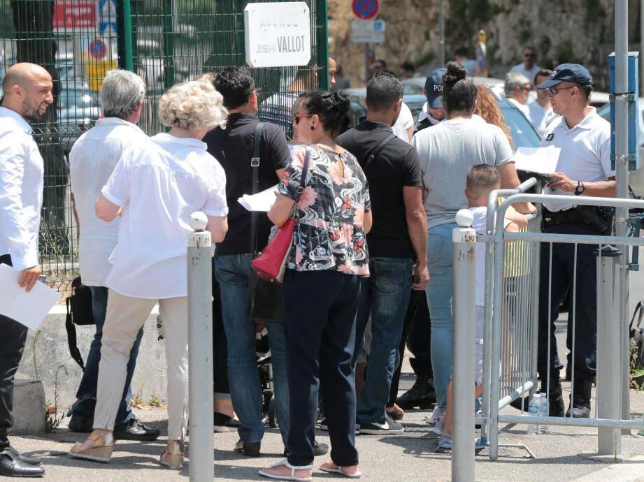 Les parties civiles les plus éloignées ont été reçues hier par les cinq juges d'instruction, comme ici à Nice,  le 27 juin dernier.