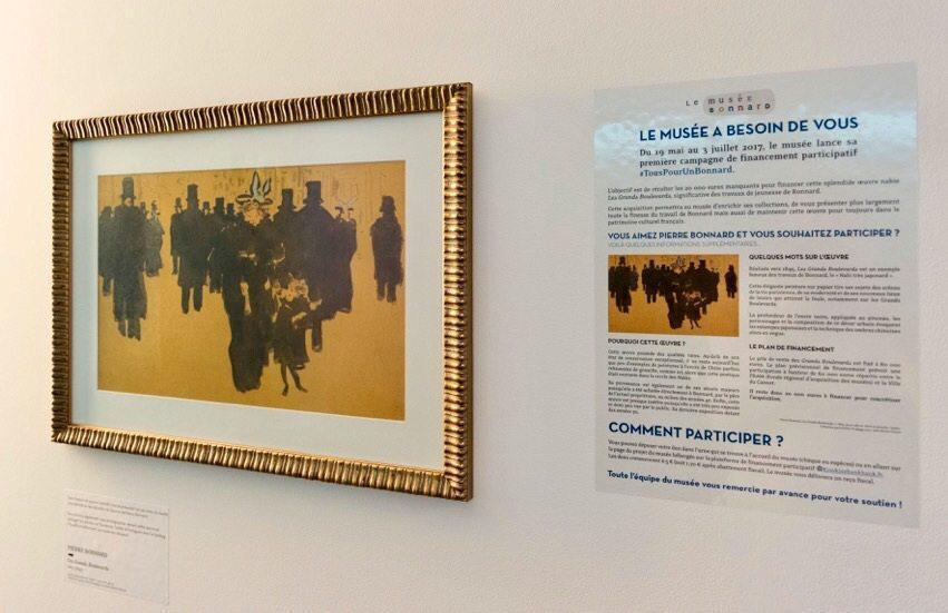 Dès le 3 octobre, l'œuvre originale va remplacer la copie qui trône actuellement sur les cimaises du musée Bonnard.