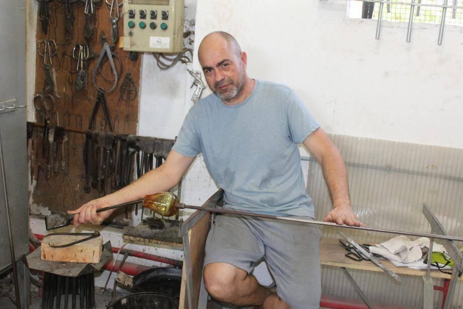 Sébastien Sappa est installé à Biot 3000.