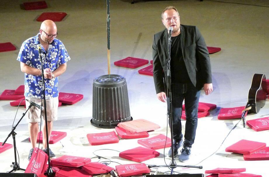 Odelaf et son compère Alain Berthier ont fait plaisir au public.