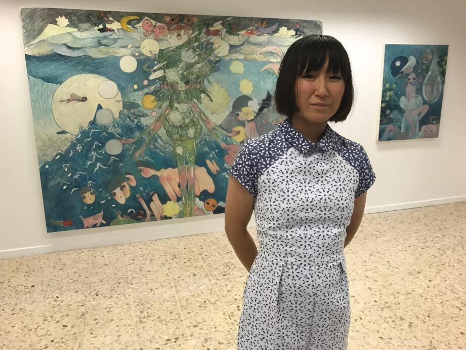 Aya Takano fait découvrir son univers pour la première fois en Principauté.