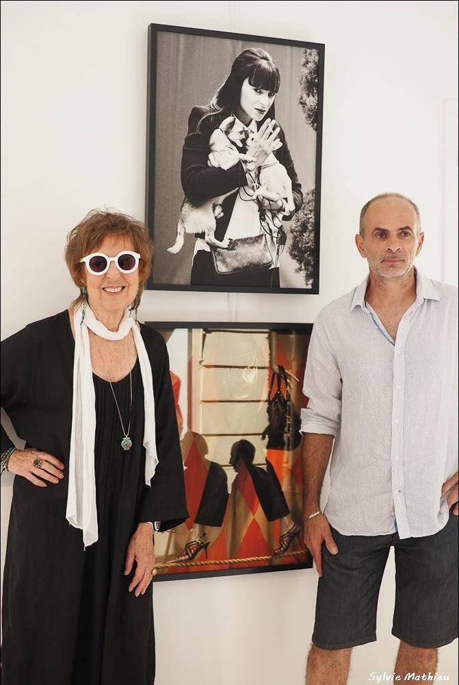 Jilly Bennett et Philippe Chiodi exposent leur travail en un même espace.(DR)