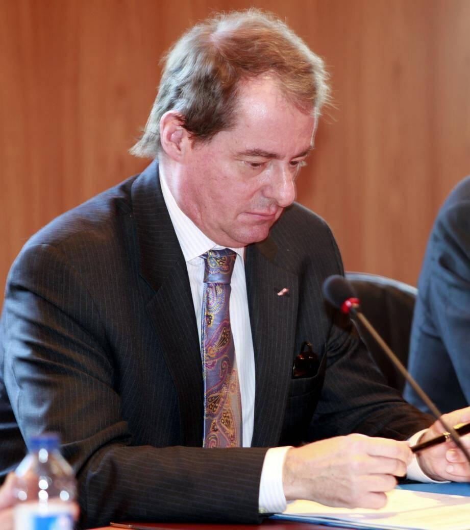 Le Franco-monégasque vient d'être élu à l'Académie des sciences morales et politiques.