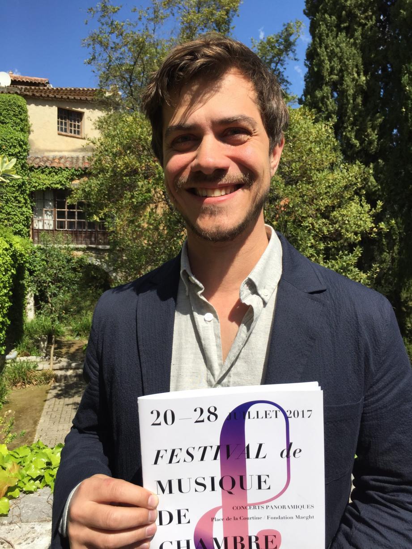 Julien Kieffer, directeur du festival.