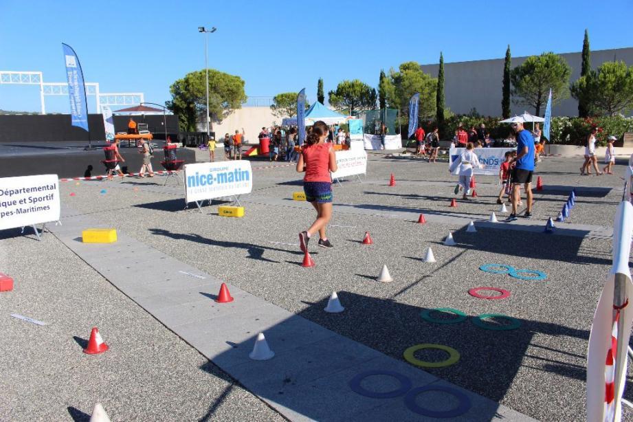 Des dizaines d'activités sportives gratuites pour les enfants de 4 à 14 ans.