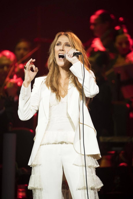 Céline Dion, à Montréal, au Canada, le 31 juillet 2016.