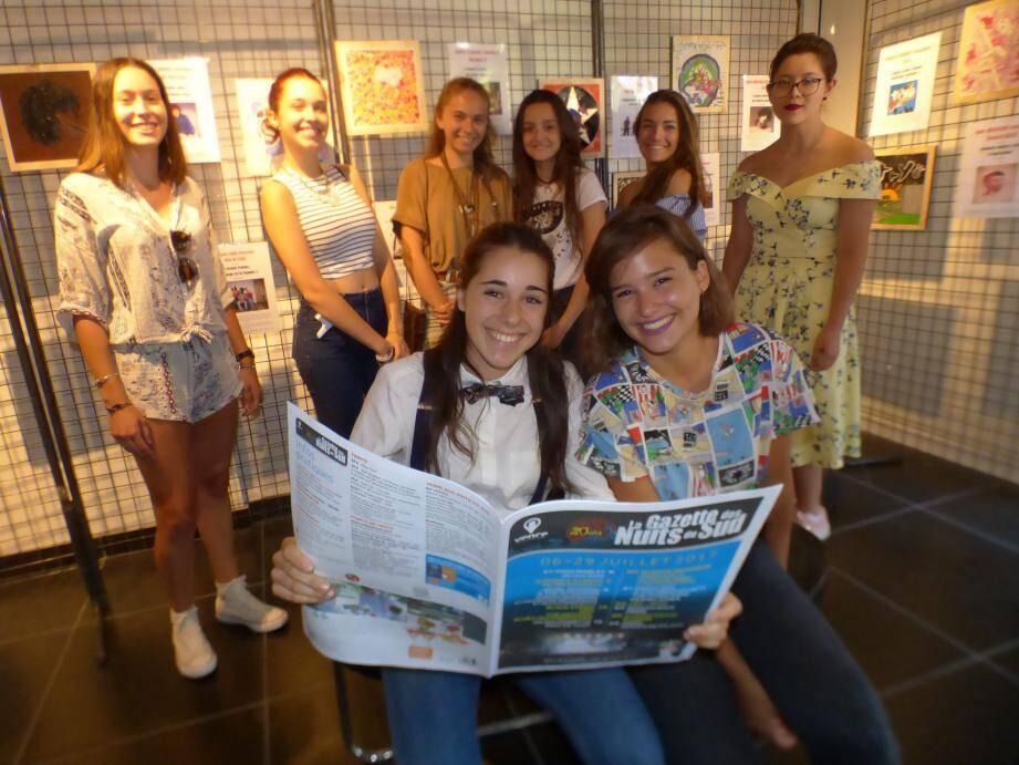 Quelques participantes du projet « Etoiles » (photo M.D.)