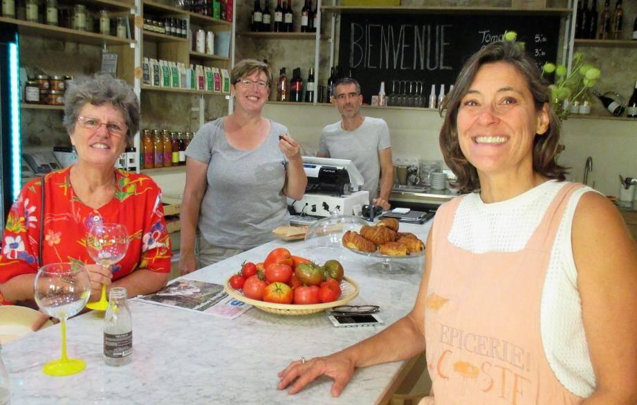 Eve Coste-Manière est devenue créatrice d'une boutique de produits bio et locavores.