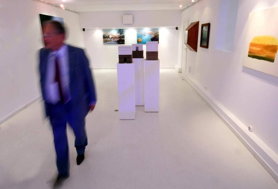 La galerie de Daniel Boéri expose cet été le travail de six artistes invités par Gino Gianuizzi.