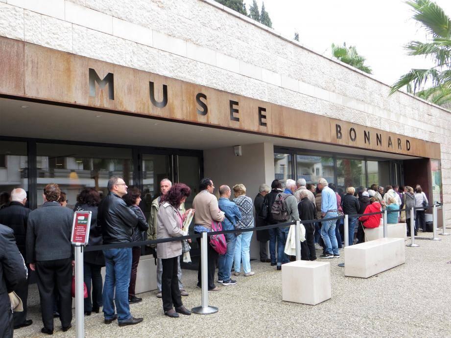 Le public, très attaché au musée Bonnard, a permis l'acquisition d'une œuvre qui va venir enrichir son patrimoine.