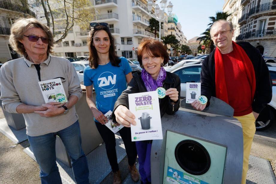 Le collectif Zéro déchet à Toulon.