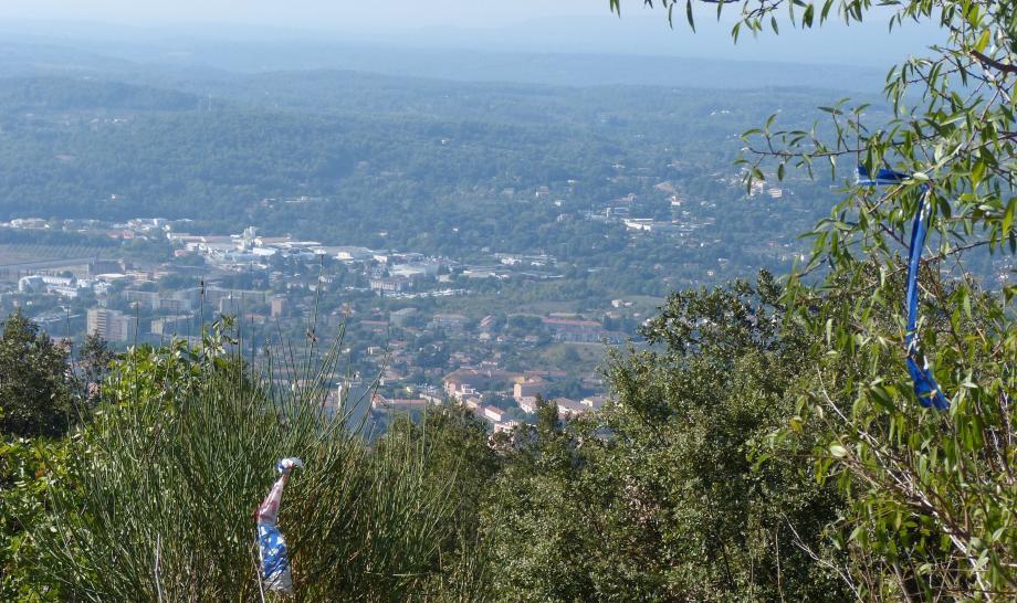 Une vue depuis le Malmont.