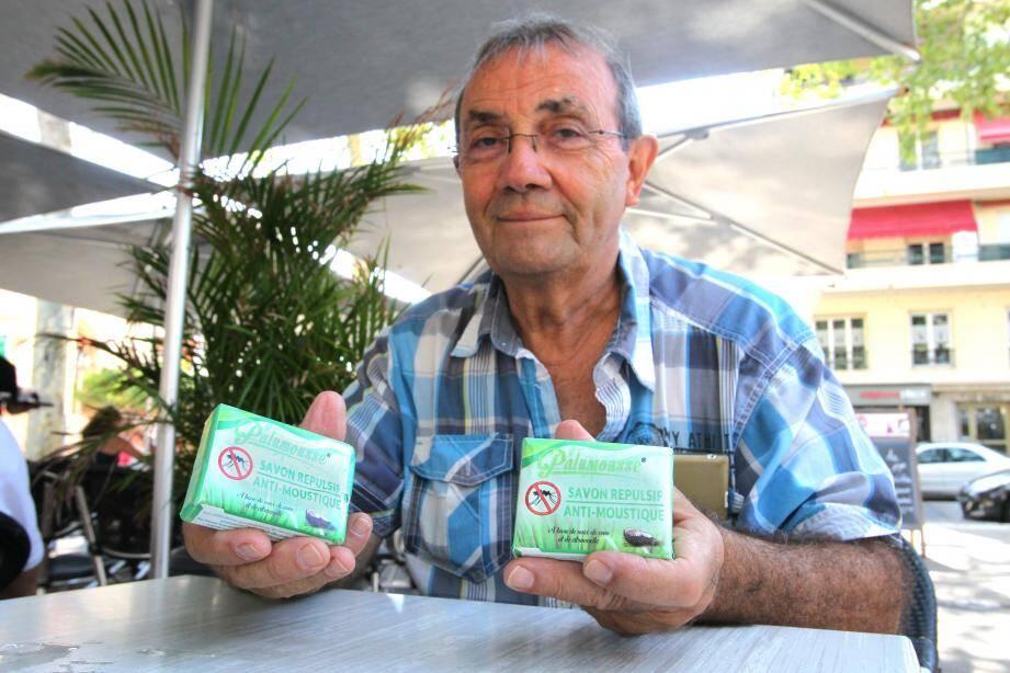 Pierre Jourdan espère percer sur le marché français avec le Palumousse.