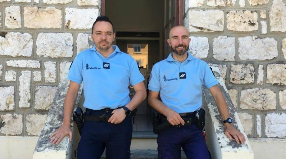 Les deux gendarmes azuréens sont partis lundi.