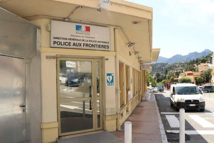 Le poste de police aux frontières