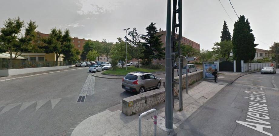 La cité des Olives dans le 13ème arrondissement de Marseille.