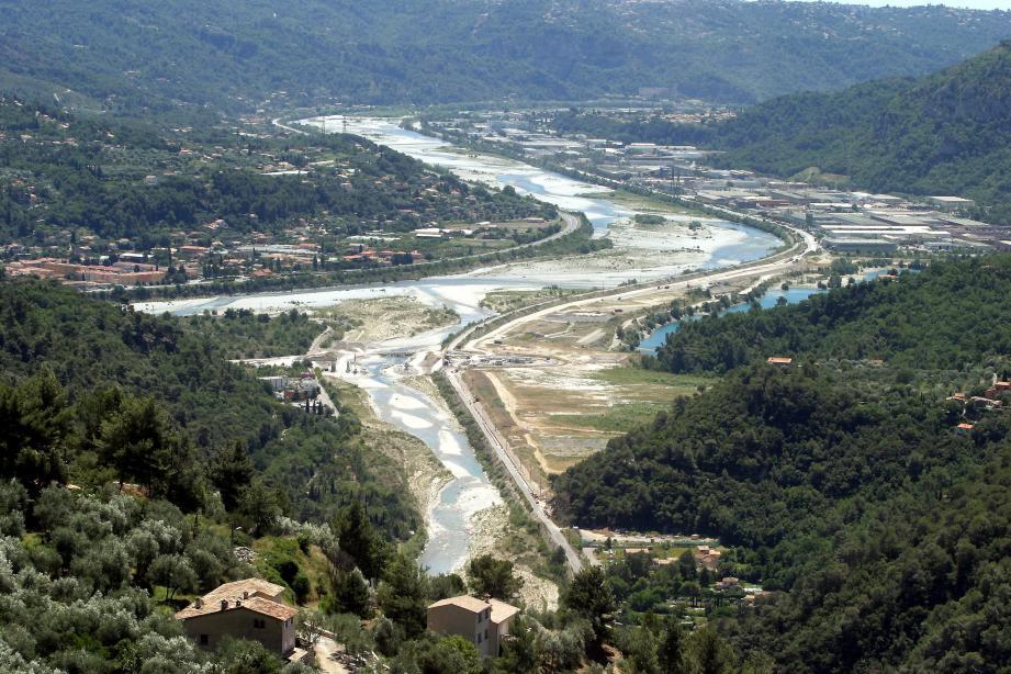 La plaine du Var au coeur de l'éco-vallée