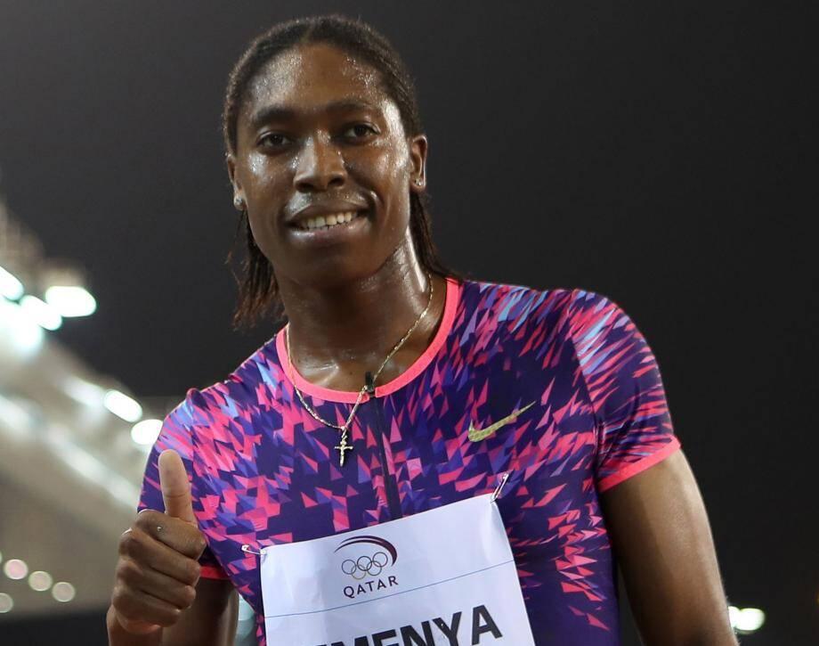 Caster Semenya, la coureuse sud-africaine.