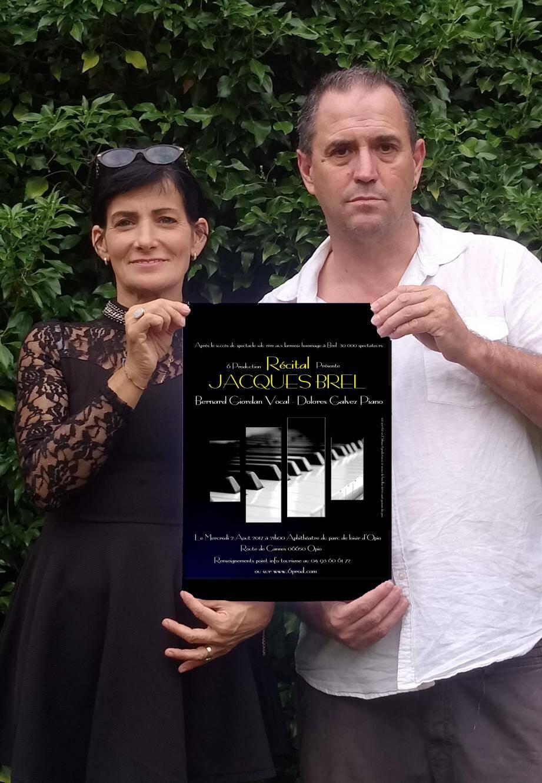 Un hommage au grand Brel par Bernard Giordan et Dolores Galvez.