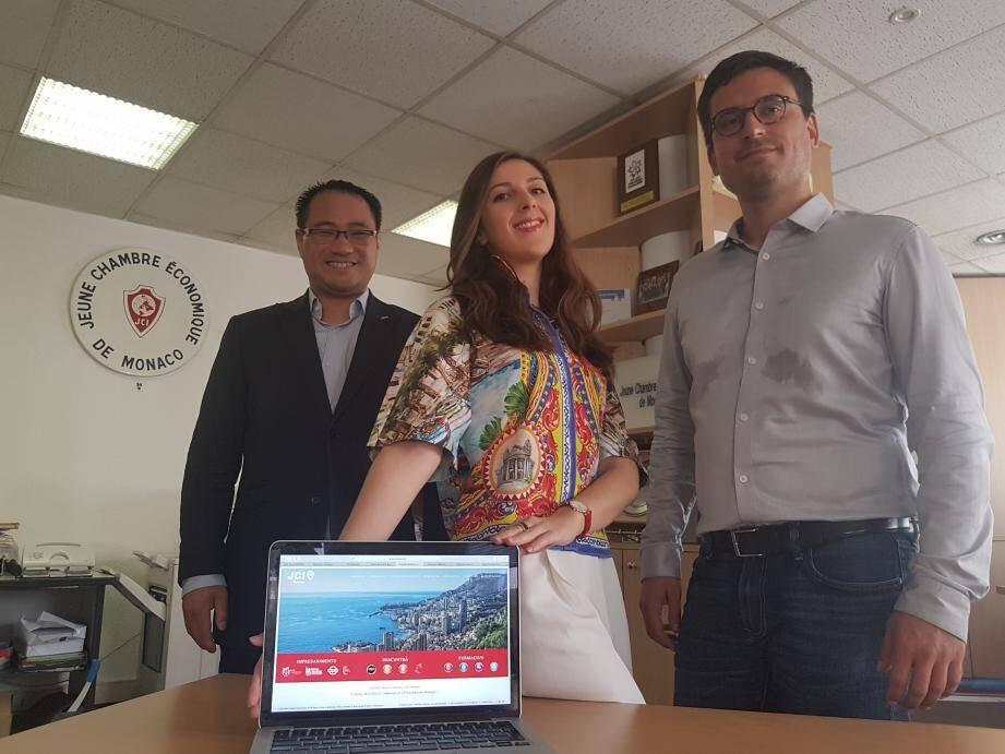 De nationalité monégasque, Léa Calori s'est chargée de la traduction du site en langue locale.