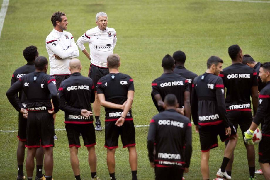 Lucien Favre devra se passer de Mario Balotelli en attaque, blessé.