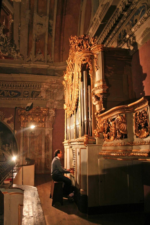 L'organiste Silvano Rodi assure la direction artistique du spectacle qui aura lieu demain soir à Breil.