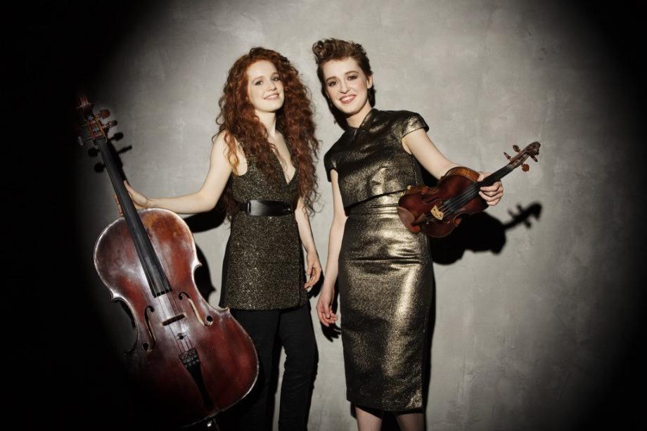 Camille et Julie Berthollet ce soir au festival Notre-Dame de Vie. (DR)