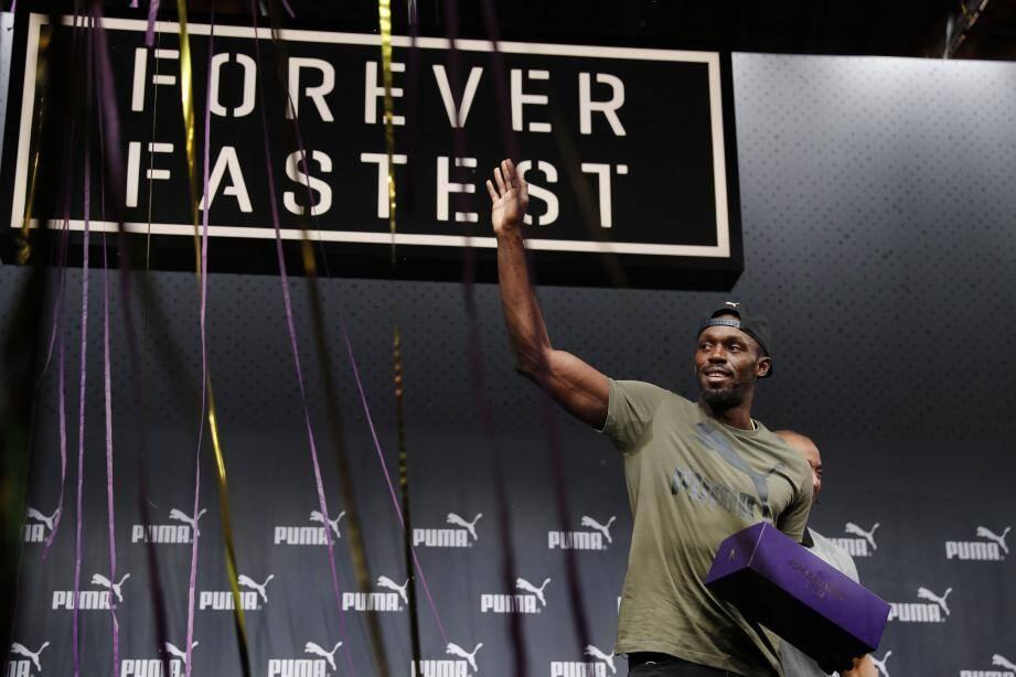 Deux rois trônent en haut de l'affiche du premier jour des Mondiaux 2017 : Usain Bolt (ci-dessus) et Mo Farah (ci-contre).