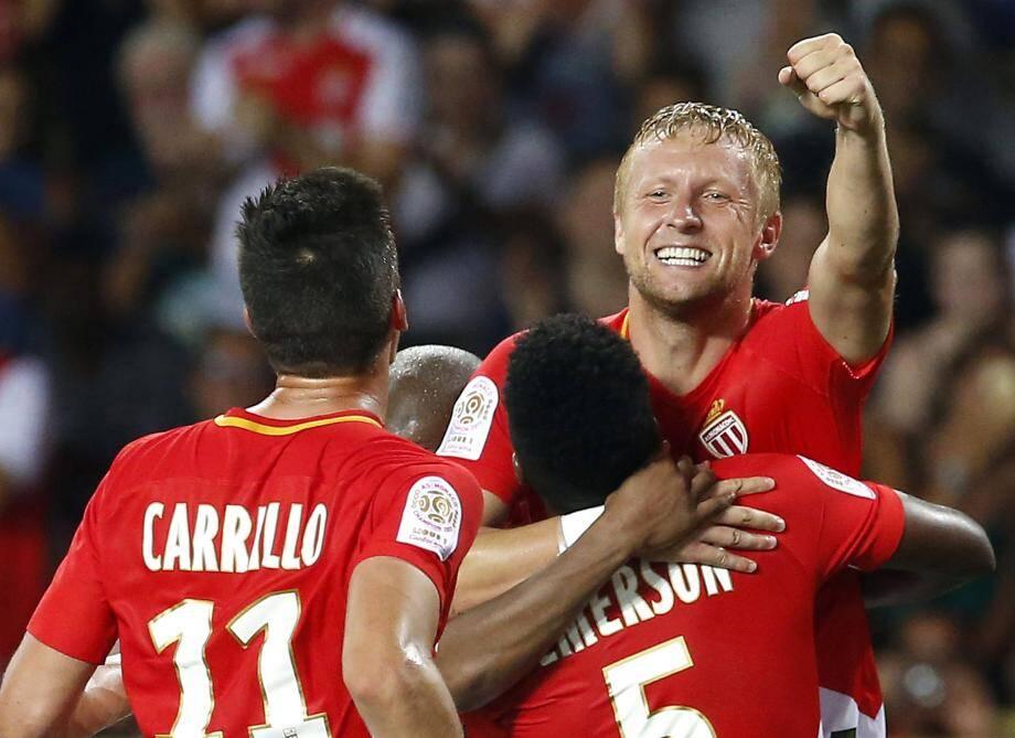 Kamil Glik, en patron, a marqué le but de la victoire.