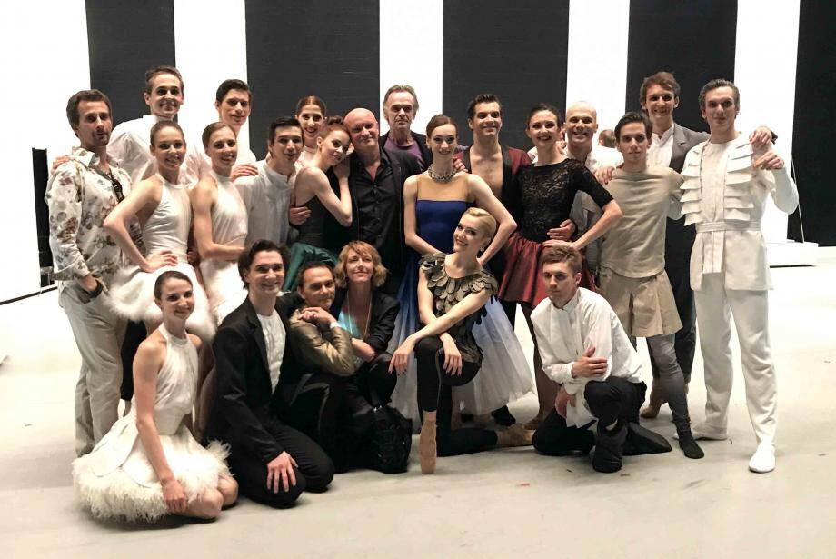 Jean-Christophe Maillot a travaillé avec les danseurs du Ballet du Théâtre du Bolchoï dans le cadre des représentations de La mégère apprivoisée à New York.  (DR)