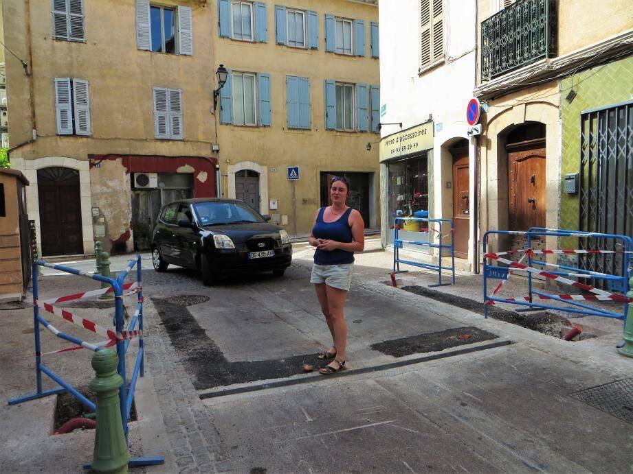 A l'instar de cette riveraine, une majorité ont émis un avis favorable à l'installation d'une barrière à l'entrée de la rue Saint-Sauveur.
