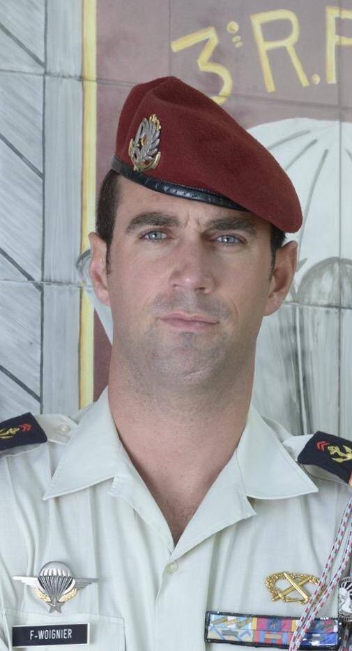 François Woignier était un sous-officier du 3e régiment de parachutistes d'infanterie de marine (RPIMa).(DR)