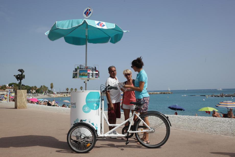 Un office de tourisme à trois roues !