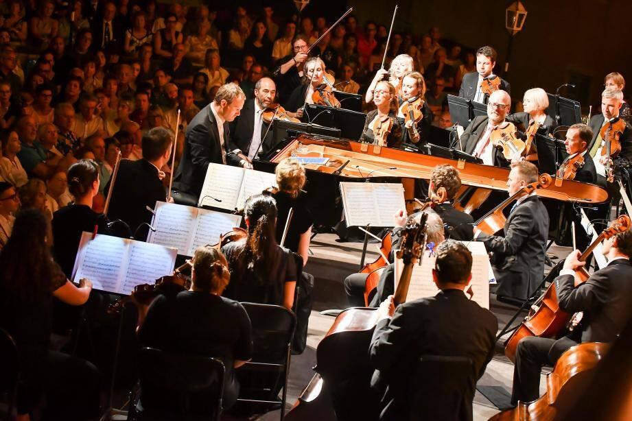 À l'instar du concert Beethoven de Lars Vogt, les grands moments de musique n'ont cessé durant deux semaines.