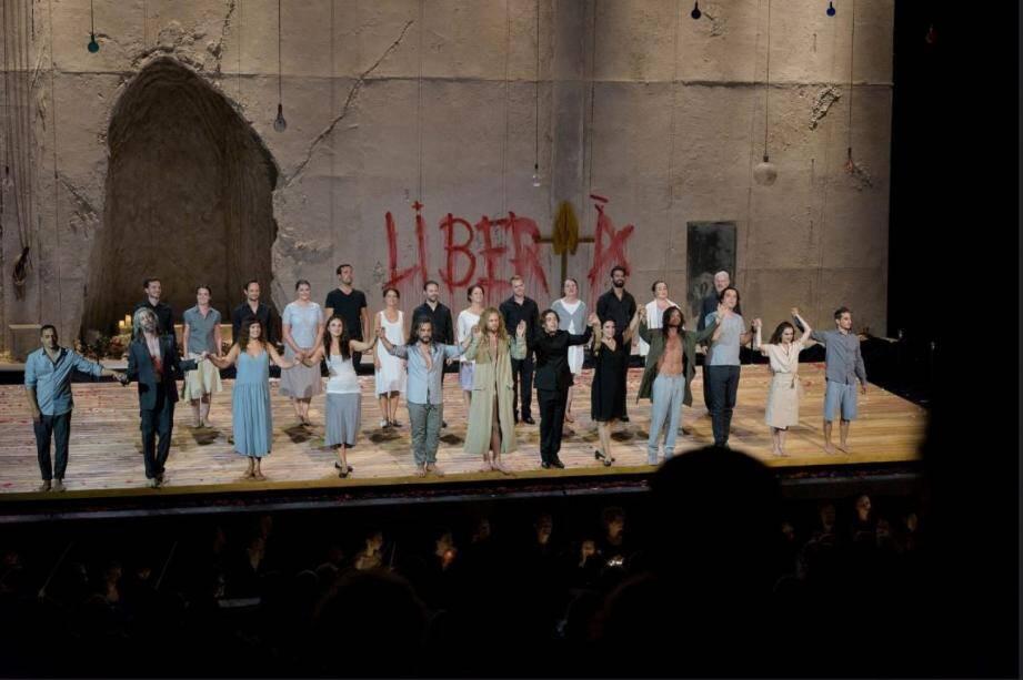 La première de « Don Giovanni », saluée par des salves d'applaudissements...
