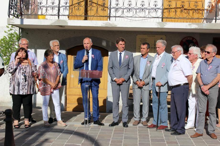 Les enfants ont lâché 86 ballons en mémoire des victimes de Nice.