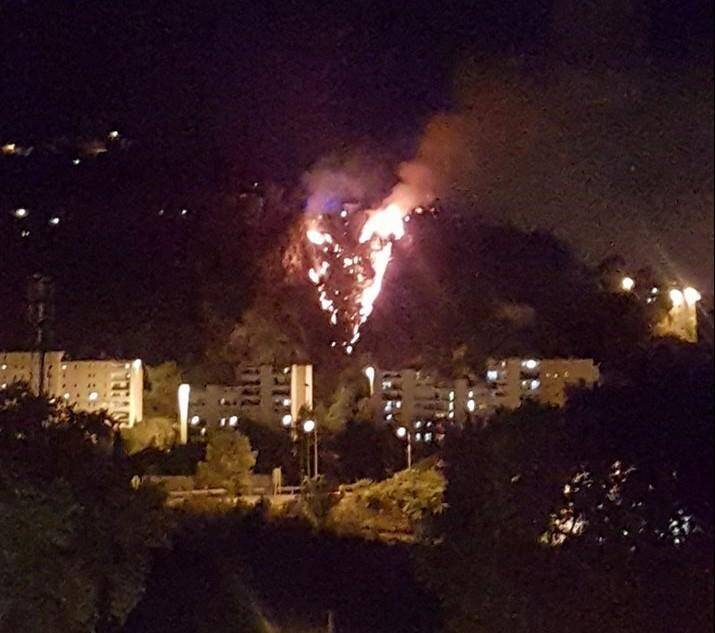 1000 m2 sont partis en fumée sur les hauteurs de Nice-Est hier soir.