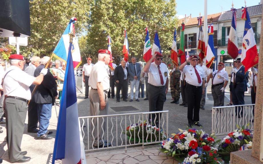 La mémoire des martyrs, militaires et civil, du Pont du Las, tués le 23 août 1944 par les forces allemandes lors de la libération de Toulon, a été honorée hier matin.