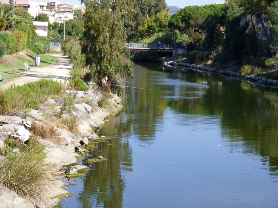 Faisant fi de l'arrêté, des personnes continuent de pêcher paisiblement dans les eaux du Préconil.