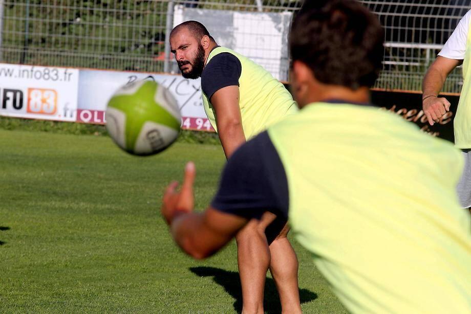 Beka Burdiashvili est venu à La Seyne pour jouer le haut de tableau de la Fédérale 1.