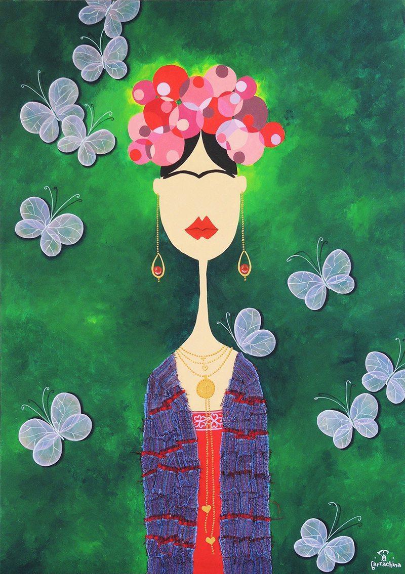 Frida Kahlo par Martha Barrachina.