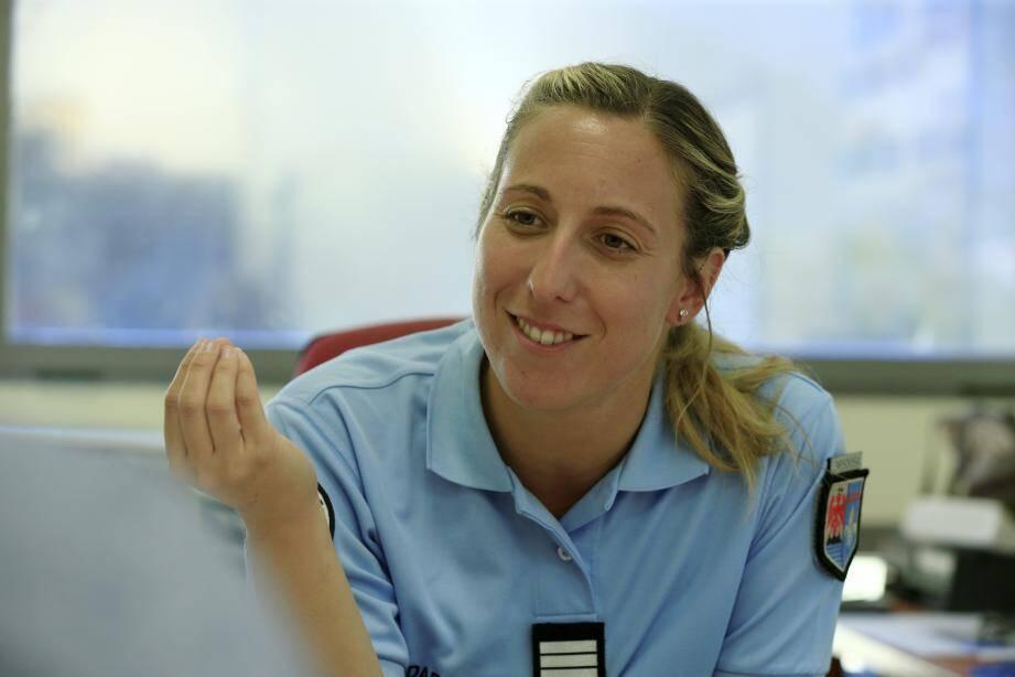 Marianne Richard, entre sourire avenant et autorité naturelle.