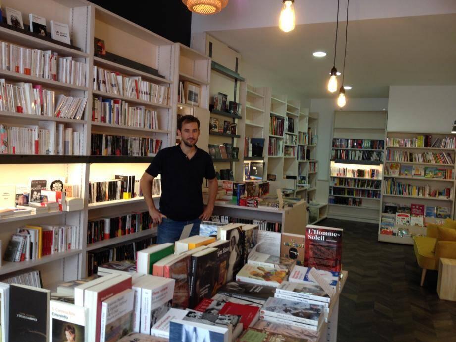 Une vraie librairie généraliste. À Borriglione, la culture livresque proposée par Jean-Sébastien Ray, a droit au chapitre.