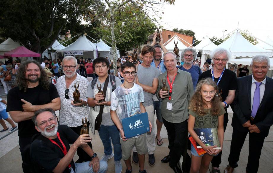 L'œuvre de Régis Loisel a été honorée, hier. Devant la grande famille  de la BD.
