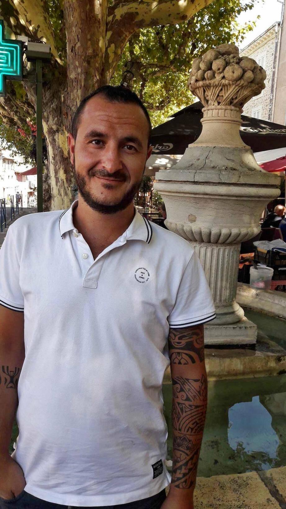 Le nouveau président, Yoann Garcia.