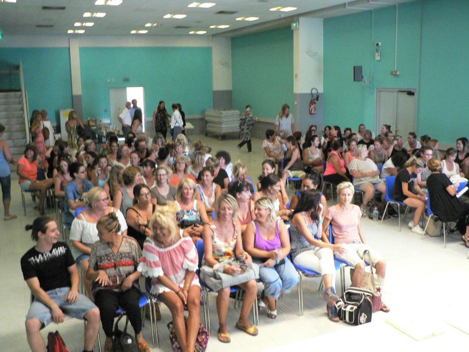 Les 105 agents territoriaux fins prêts pour une nouvelle année scolaire.