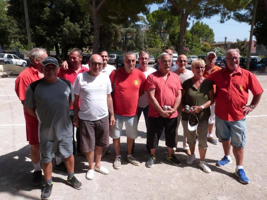 Les hospitaliers ont repris dimanche leurs activités dans le cadre d'un concours au jeu provençal.